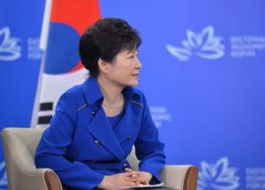 Scandal de coruptie in Coreea de SUd: Fostul presedinte a fost retinut ca sa nu distruga probe