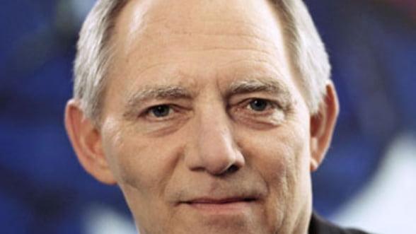 Schauble: UE va avea o politica fiscala comuna in curand