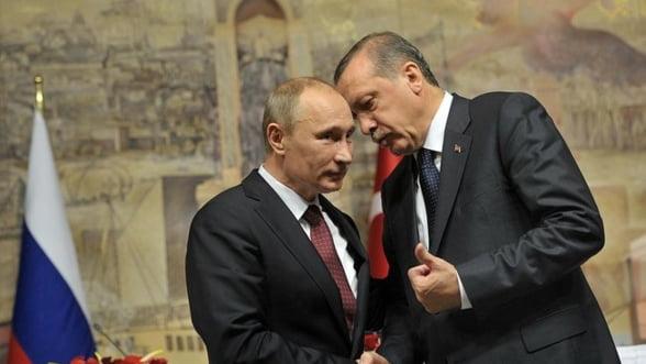 Schimb de experienta? Putin si Erdogan lasa deoparte neintelegerile si au decis sa se intalneasca