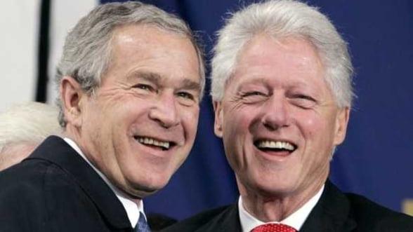 Schimb inedit de mesaje pe retelele de socializare intre doi fosti presedinti americani