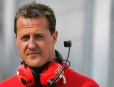 "Schumacher ""prezinta momente de constienta si de trezire"", dupa 96 de zile de coma"