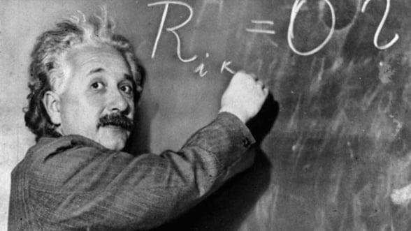 Scrisori trimise de Einstein unei organizatii anti-naziste, scoase la licitatie
