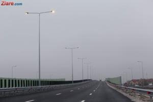 Se surpa asfaltul pe Autostrada Urbana, inaugurata in urma cu doar 2 luni