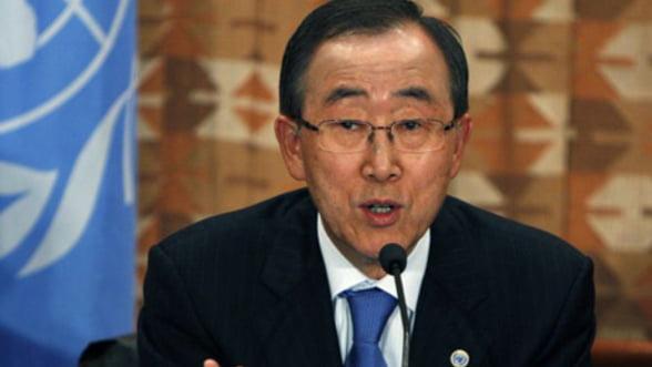 Secretarul General ONU: Liderii zonei euro trebuie sa lucreze impreuna