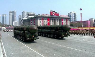 Secretarul apararii din SUA: Un razboi cu Coreea de Nord ar fi cel mai cumplit conflict al generatiei noastre