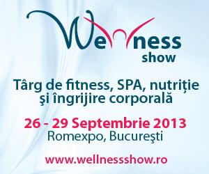 Secretele unei vieti sanatoase la Wellness Show 2013