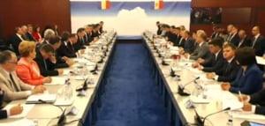 Sedinta comuna de guvern Romania - R.Moldova: Ce decizii majore s-au luat
