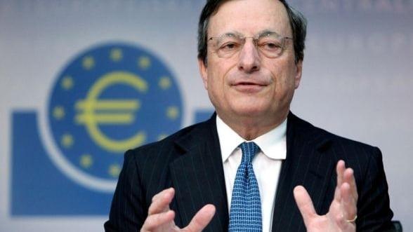Seful BCE crede ca zona euro va cunoaste o relansare graduala pana la sfarsitul anului