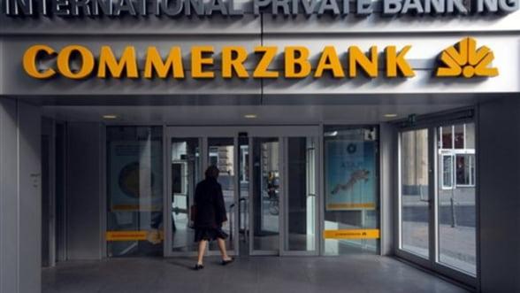 Seful Commerzbank a taiat bonusurile angajatilor. Banca e in criza