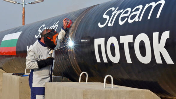 Seful Gazprom: South Stream este un proiect inchis