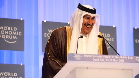 Seicul din Qatar, joc periculos cu actiunile Deutsche Bank