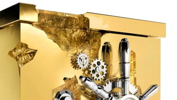 Seiful milionarului: Tu ti-ai tine aurul intr-un seif din aur?