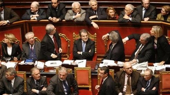 Senatul Italian a aprobat pachetul de austeriate