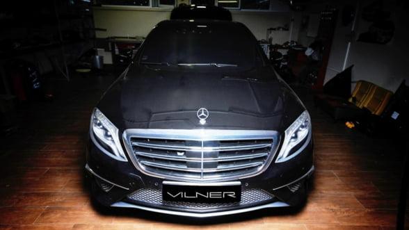Senzatii unice: Uite cum a tunat Vilner o limuzina Mercedes AMG S63!