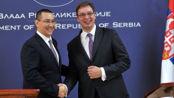 Serbia vrea gaz din portiunea romaneasca a Marii Negre