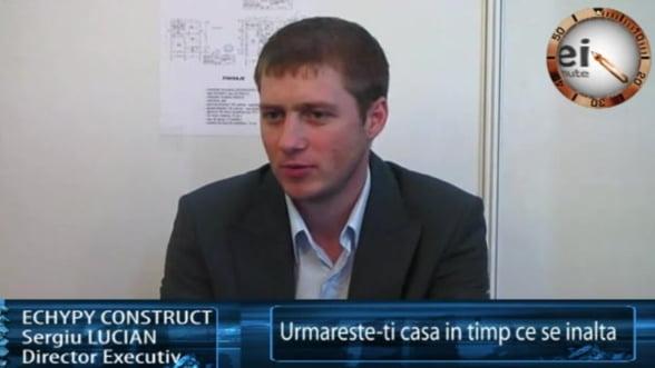 Sergiu Lucian, director executiv Echypy Construct