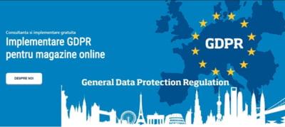 Servicii GDPR si securitate, devirusare site-uri si magazine online