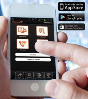Servicii de curierat printr-o noua aplicatie de smartphone