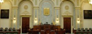 Sesizarea Guvernului referitoare la dublarea alocatiilor va fi dezbatuta in 15 iulie de Curtea Constitutionala