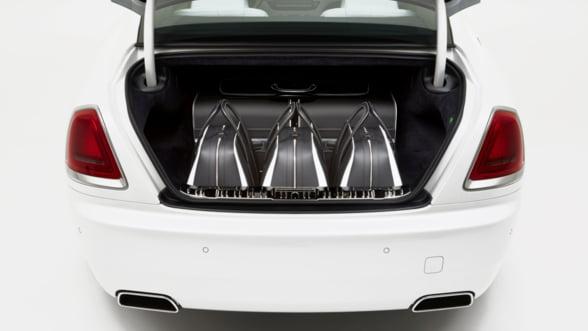 Setul de bagaje Rolls Royce, un mod ultra-stilat de a calatori
