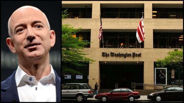 Sfarsitul unei epoci. Patronul Amazon preia Washington Post pentru 250 de milioane USD