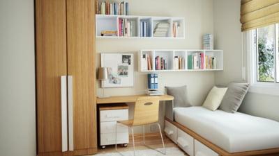 Sfaturi de amenajare pentru un dormitor mic - cum creezi iluzia de spatiu mai mare