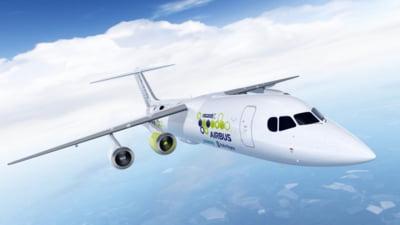 Siemens, Airbus si Rolls-Royce vor construi impreuna un avion cu motor electric