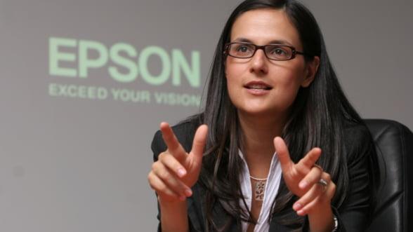 Simona Decuseara, Epson: Tot timpul meu liber este alocat familiei
