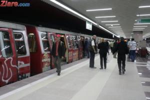 Sindicalistii de la metrou sustin ca multe trenuri sunt greu de condus si pun calatorii in pericol. Iata de ce