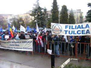 Sindicalistii si-au pierdut rabdarea: Protestam in fiecare zi pana cand Guvernul se tine de cuvant