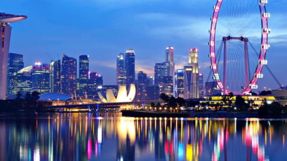 Singapore este de noua ani raiul afacerilor. Vezi topul Bancii Mondiale