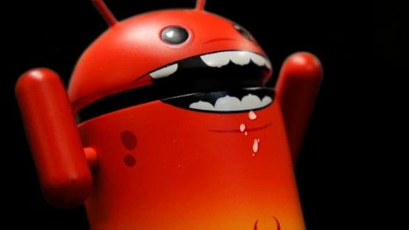 Sistemul Android, tinta a 99,9% din virusii de mobil descoperiti de la inceputul anului