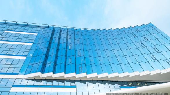 Skanska inaugureaza prima cladire a proiectului Equilibrium, cu 3.500 mp pentru relaxare si lucru in aer liber