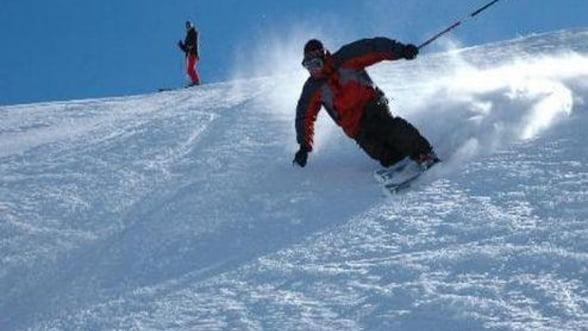 Ski in statiunile romanesti. Vezi partiile practicabile