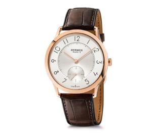 Slim d'Hermes Email Grand Feu, etalonul elegantei discrete in lumea ceasurilor masculine