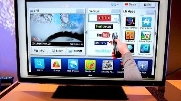 Smart TV, gadgetul anului 2012. Cum ar arata in sufrageria ta?