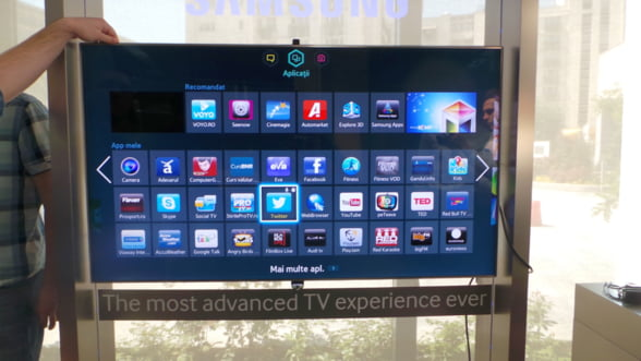 Smart TV-urile incep sa prinda la romani Piata a ajuns la peste 100.000 de unitati