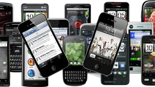 Smartphone-uri: Rata de folosire in Romania a ajuns la 17%