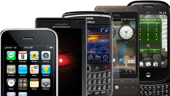 Smartphone-urile reprezinta 27% din totalul telefoanelor mobile la nivel global