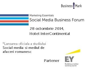 Social media si mediul de afaceri romanesc: Studii si dezbateri la un eveniment dedicat