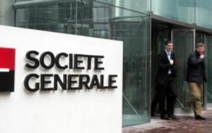 Societe Generale, scadere cu 63% a profitului net