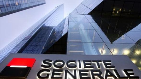 Societe Generale anunta rezultate ingrijoratoare: Profit in scadere, dupa picajul la bursa