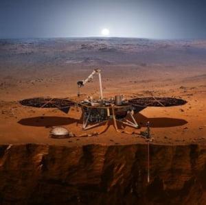Sonda spatiala InSight, lansata de NASA, a reusit sa ajunga pe Marte