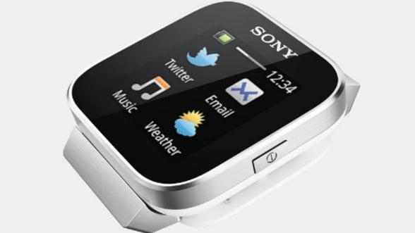 Sony SmartWatch, un Android la (inde)mana