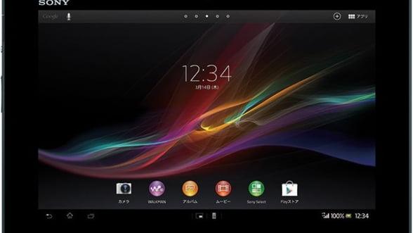 Sony Xperia Z, cea mai subtire tableta, lansata oficial