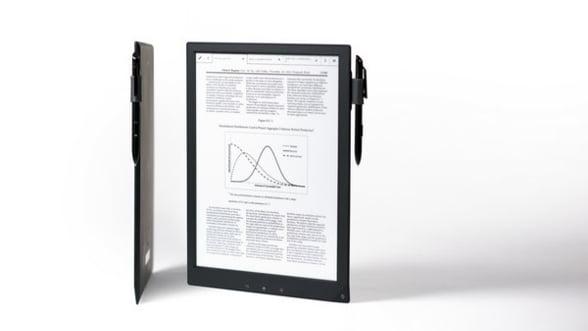 Sony a pus in vanzare hibridul Digital Paper. Un gadget tableta/e-reader mult prea scump