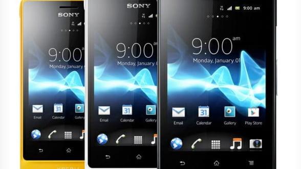 Sony lanseaza un smartphone rezistent la apa (VIDEO)