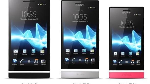 Sony prezinta Xperia S, Xperia U si Xperia P