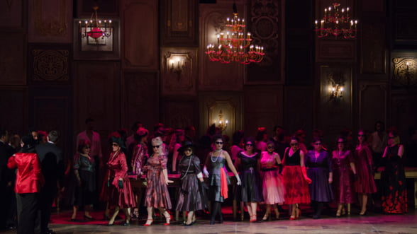 Soprana Diana Tugui, invitata in La Traviata din programul lunii februarie de pe scena Operei Nationale Bucuresti