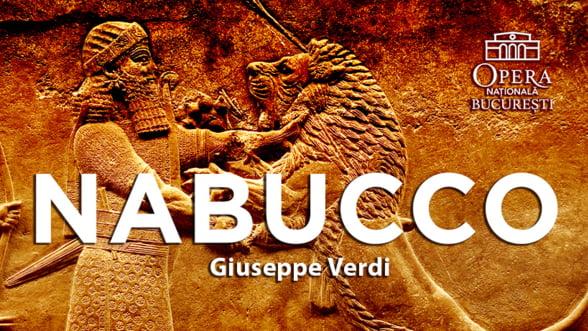 "Soprana Katjia Levin, invitata in ""Nabucco"" de pe scena Operei Nationale Bucuresti"